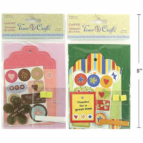 Diy card making kit for making thank youget well gift 1 random diy card making kit for making thank youget well gift 1 random style per pack time 4 crafts m4hsunfo