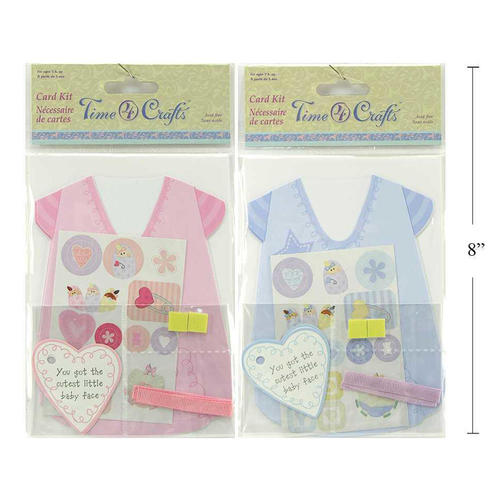 Card making kit handmade diy card baby boygirl random style card making kit handmade diy card baby boygirl random style time 4 crafts m4hsunfo