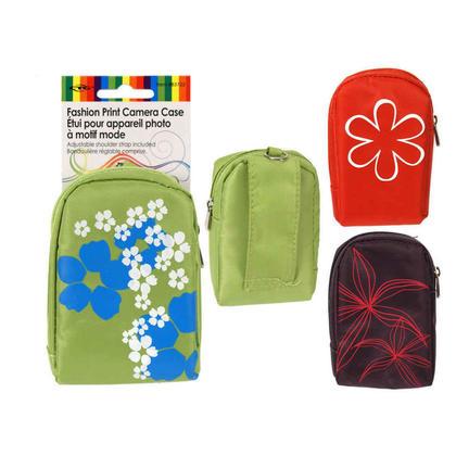 Camera Case Bag Fashion Print Travel Adjustable Shoulder Strap, 1 Randomized Style Per Pack