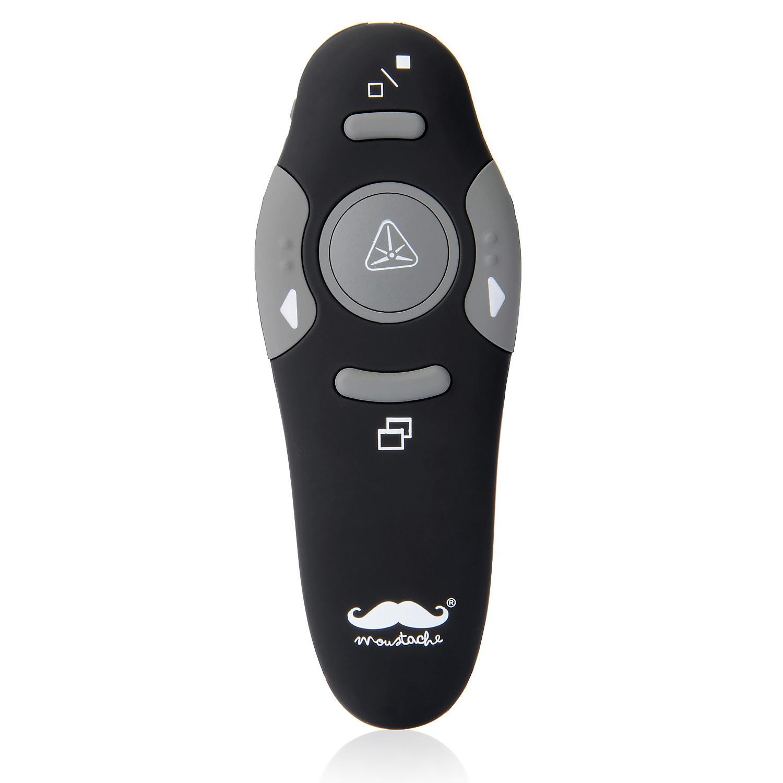 Wireless presentation remote control - Moustache