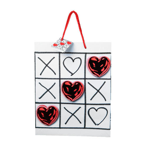 Valentine Gift Bag Large Size Pop Up Hot Stamp 12 75 10 5in 1