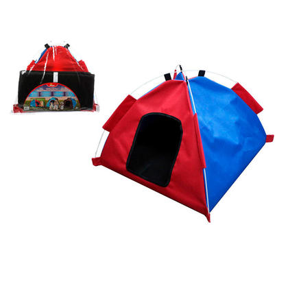 "Folding Pet Tent, Indoor Outdoor Waterproof Pet House, 24""x20""x20"" - Paws"