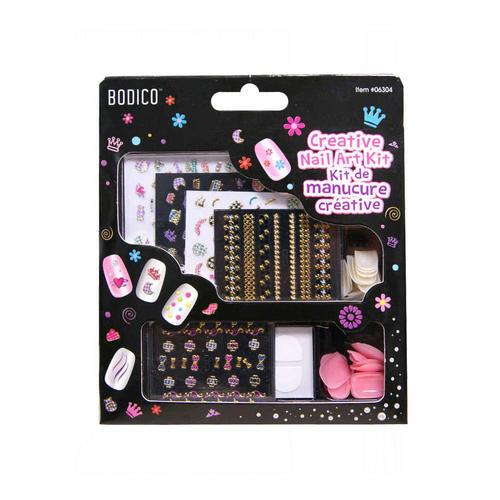 Girls Creative Nail Art Kit