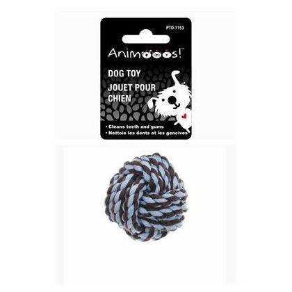 """6.7"""" coton corde balle chien jouet à mâcher jouet"""