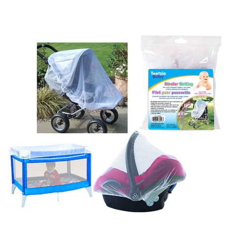 Baby Mosquito Net Cover For Strollers Carriers Car Seats Beds