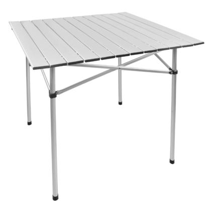 Portable Camping Square Aluminum Folding Table , 70cmx70cm - Moustache@ - Table only