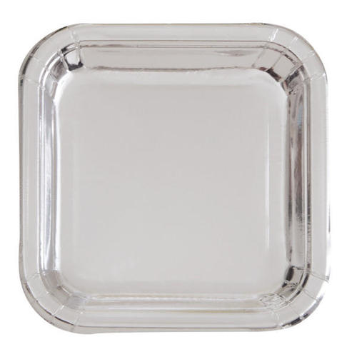 Medium plus 708de other brands lvu 32325 graduation party supplies silver foil square 9 dinner plates  sc 1 st  Living.ca & Silver Foil Square 9
