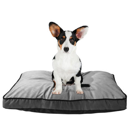 Super Soft Plush Pet Bed with Removable Washable Cover - LIVINGbasics™
