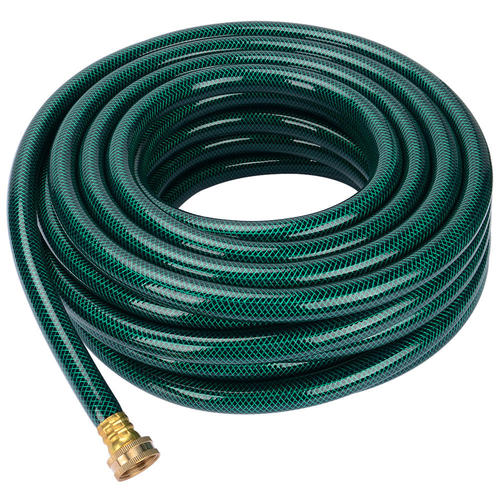 "Garden Water Hose W/ 3/4"" Brass Fitting Connectors 5/8"
