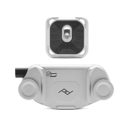 Lunar Year Sale CAPTURE CAMERA CLIP V3 with Standard plate - Silver-Free Shipping