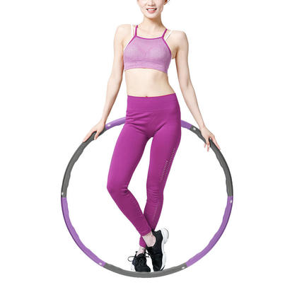 Fitness Exercise Hula Hoop 2.6lb, 6 Section Detachable Design - PHAT™