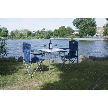 Portable Camping Square Aluminum Folding Table