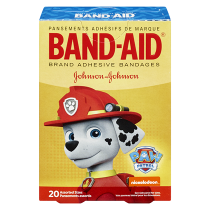 BAND-AID®PAW PATROL THEME 20Pièces / Paquet