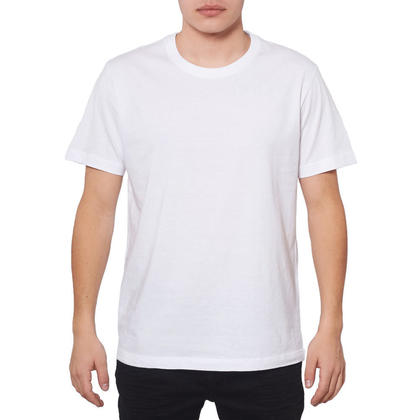 Short Sleeve T-shirt White - LIVINGbasics™ - XL