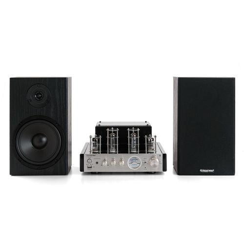 Medium Plus 06837 Primecables Cab Amp T100 Bk265 Speakers Subwoofer Stereo Hybrid Speaker Amplifier 25w Hi