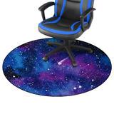 Anti-Slip Galaxy Gaming Chair Mat for Hardwood Floor - Moustache®