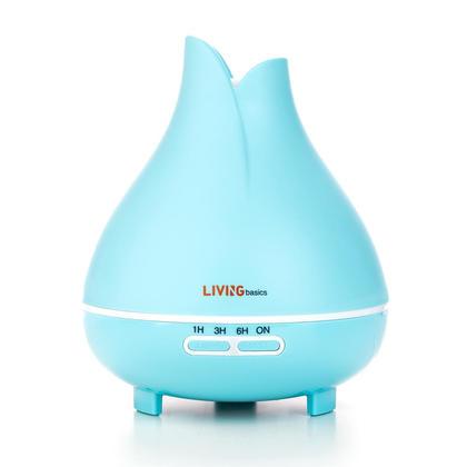 Diffuseur d'huile essentielle humidificateur silencieux à brume fraîche 300ml - LIVINGbasics™