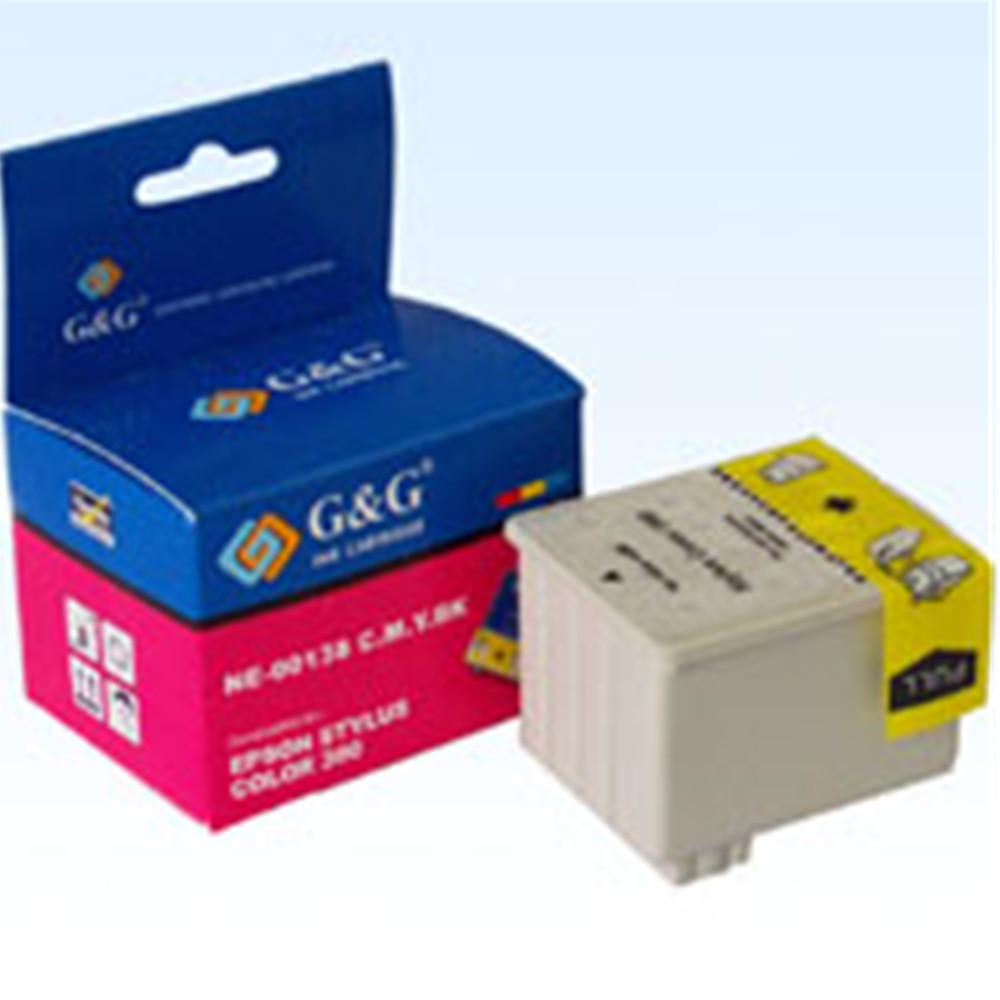 Epson S020138 Compatible Black and Color Ink Cartridge
