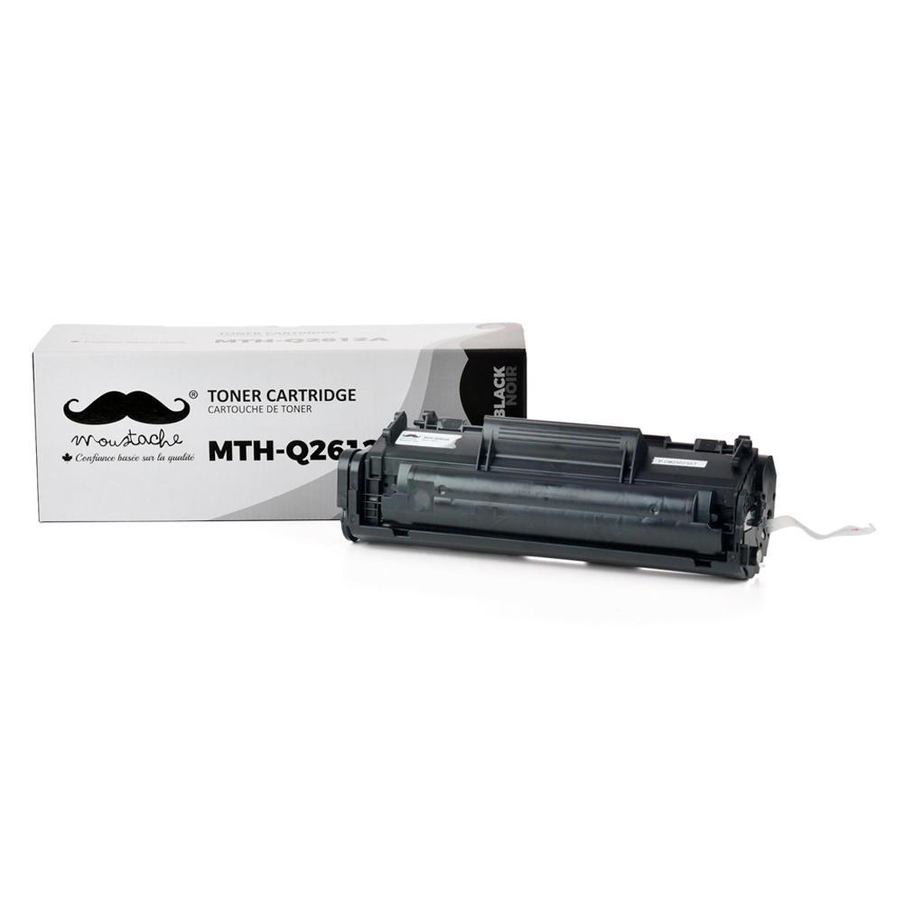 Compatible HP 12A Q2612A Black Toner Cartridge - Moustache®