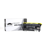 Brother TN-350 Compatible Black Toner Cartridge - Moustache®