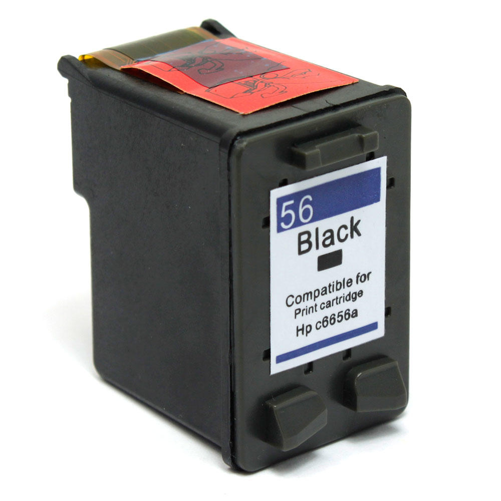 Remanufactured HP 56 C6656AN Black Ink Cartridge - G&G™