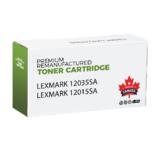 Lexmark 12035SA 12015SA Remanufactured Black Toner Cartridge for E120 Printer