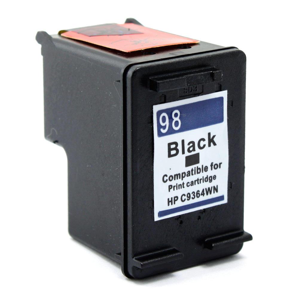 Remanufactured HP 98 C9364WN Black Ink Cartridge - G&G™