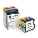 Brother LC51 Compatible Ink Cartridge Combo BK/C/M/Y - Moustache®