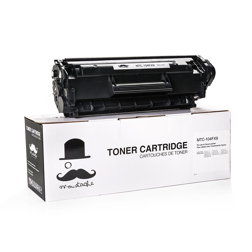 Canon 104 0263B001AA Compatible Black Toner Cartridge - Moustache®