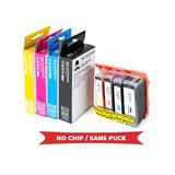 Canon PGI5 CLI8 Compatible Ink Cartridge Combo BK/C/M/Y (0628B027) - Moustache®