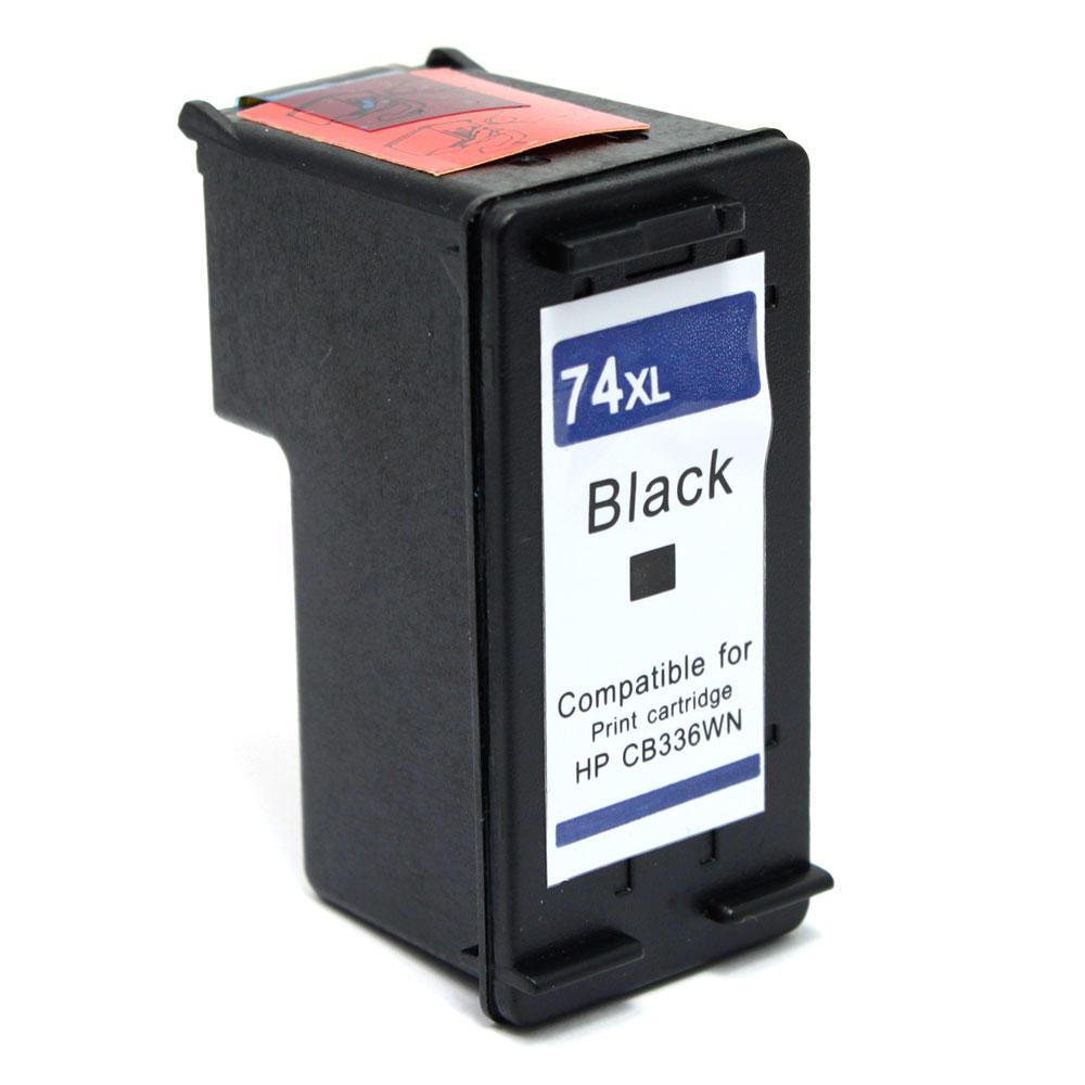 Remanufactured HP 74XL CB336WN Black Ink Cartridge High Yield - G&G™