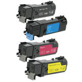 DELL KU052 KU53 KU54 KU55 Compatible Toner Cartridge Combo