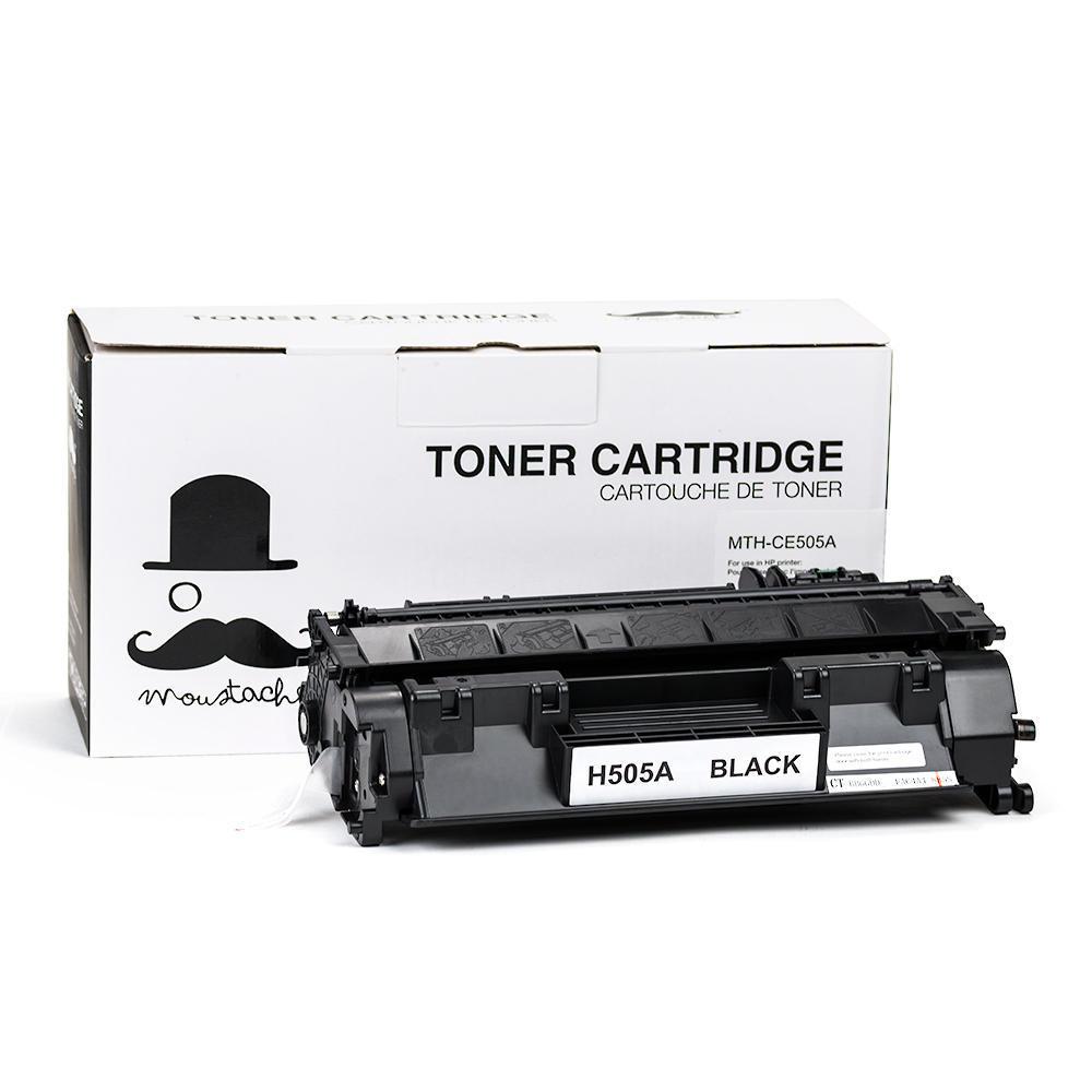 Printer Ink Toner Cartridges Refill Laser Sale Canada Hp Laserjet 24k Black Cartridge Cc364x Compatible 05a Ce505a Moustache