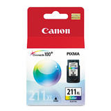 Canon CL211XL Original Color Ink Cartridge High Yield (2975B001)