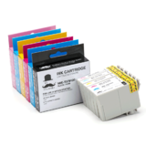 Epson 79 T079 Compatible Ink Cartridge Combo High Yield BK/C/M/Y/LC/LM - Moustache®