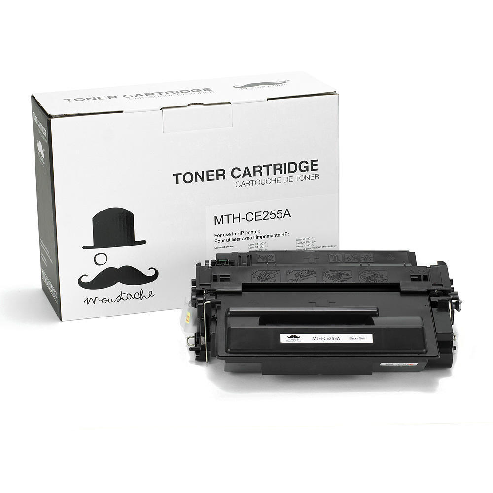 HP 55A CE255A Black Toner Cartridge