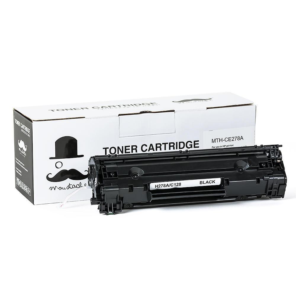 Compatible HP 78A CE278A Black Toner Cartridge - Moustache®