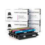 Brother TN115 Compatible Toner Cartridge Combo BK/C/M/Y Moustache®