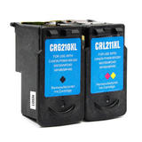 Canon PG210XL CL211XL Remanufactured Ink Cartridge Combo