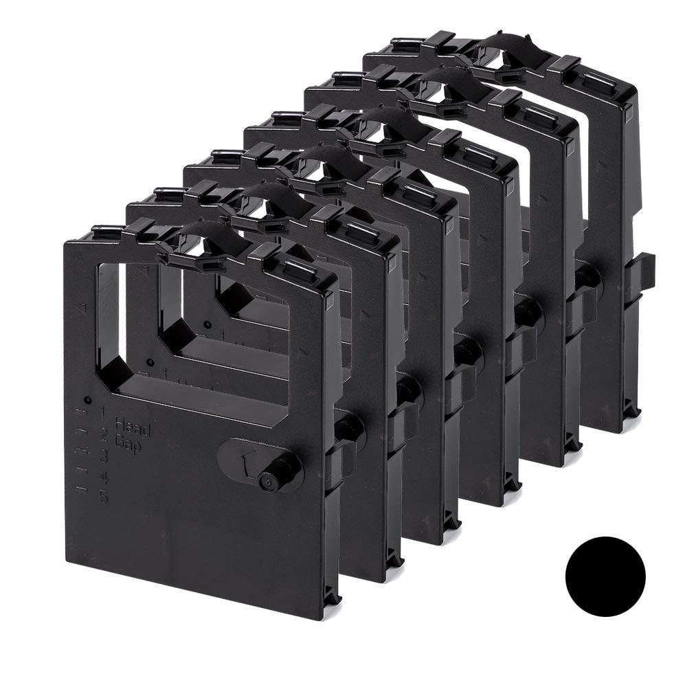 Okidata 52102001 New Compatible Black Ribbon 6/Pack for ...