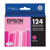 Epson T124320 Original Magenta Ink Cartridge