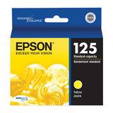 Epson 125 T125420 Original Yellow Ink Cartridge