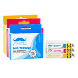 Epson 69 T069 Compatible Ink Cartridge Combo C/M/Y - Moustache®
