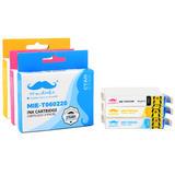 Epson 60 T060 Compatible Ink Cartridge Combo C/M/Y - Moustache®