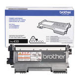 Brother TN450 Original Black Toner Cartridge High Yield