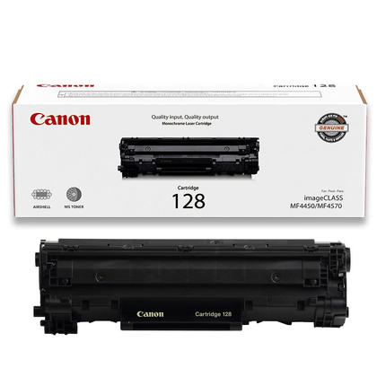 Canon 128 3500b001aa Original Black Toner Cartridge