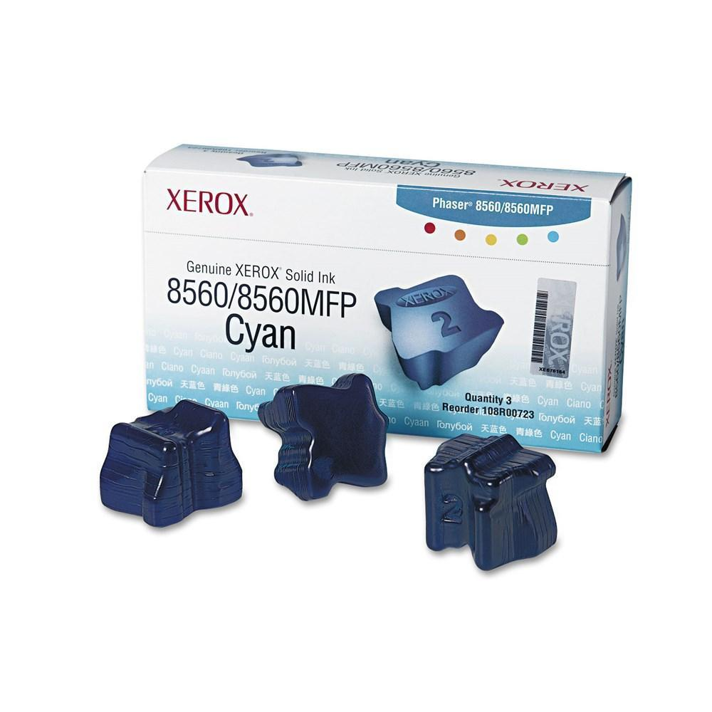 Xerox 108R00723 Original Cyan Solid Ink Sticks – 3 Sticks|Pack