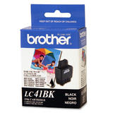 Brother LC41BK Original Black Ink Cartridge