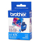 Brother LC41C Original Cyan Ink Cartridge