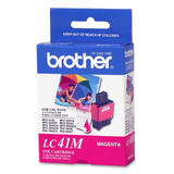 Brother LC41M Original Magenta Ink Cartridge